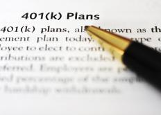 Human resources handles the company's 401(k) plan and other retirement savings options.