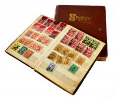 Stamp collections should be appraised before sale.