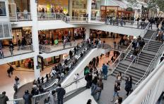 Malls offer a safe, warm place to exercise.