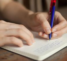 The practice of journaling may be incorporated into cognitive behavioral therapy.