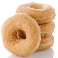 Avoiding sugary foods like doughnuts can help restore tooth enamel.