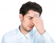 Sinus pressure can result from cervical lymphadenopathy caused by an infection.
