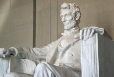 Researchers believe Abraham Lincoln's unusally tall and thin appearance was caused by dysmorphism.
