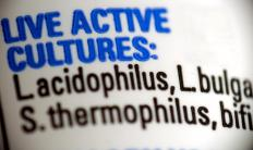 Acidophilus, often called a good bacteria, is found in yogurt, supplements and other products.