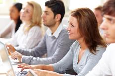 Classes often focus on one particular software program.