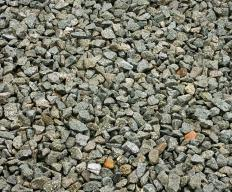Used for landscaping and paths, rock mulch prevents soil from eroding and provides a stable surface.