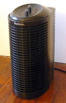 An air ionizer.