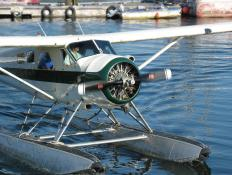 A sponson can help extend the hull higher in the water on airplanes that can take off or land in water.