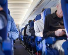 Many airlines provide power outlets for the convenience of their passengers.