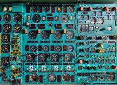 Mode control panels are part of the instrument panels on aircraft.