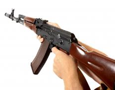 In the US, there are restrictions on the possession of automatic weapons.