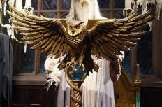 At one point, Dumbledore makes an unauthorized portkey in front of the Minister of Magic.
