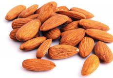 Calisson is made with ground almonds.