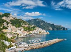 The Amalfi region of Italy produces most of the lemons for Limoncello.