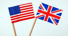 British English and American English have subtle differences from one another.