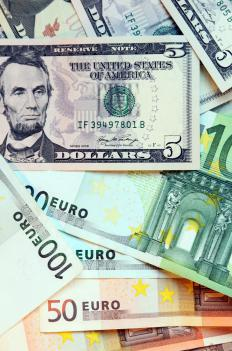 A currency crisis occurs when one country's money becomes severely devalued in the world market.