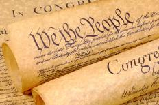The constitution is included in a country's enacted law.