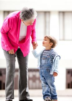 Grandchildren receive the wealth and estate of a grantor in a generation-skipping trust.