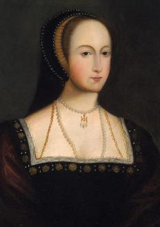 It is said to be Anne Boleyn who introduced the French hood to the women and styles of England.