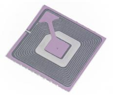 A RFID tag is a means to store electronic data on an item that can be easily accessed later with a RFID reader.