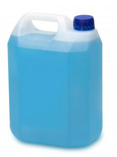 Ethylene glycol antifreeze resists freezing and overheating.