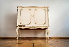 Restorers try to return antique or vintage furniture to its original condition.