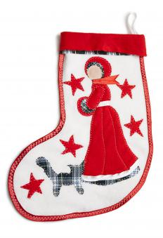 Fill home made stockings with inexpensive treats.