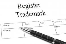 Part of an application to register a trademark.