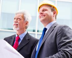 When people first start working on a construction site, whether they are building an office building or a deck, they need to survey it to learn about elevations on the site.