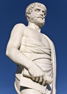 Much of the terminology of rhetoric and debate of the ad populum fallacy was developed by Aristotle.