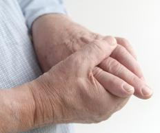 Repetitive motions can cause premature arthritis symptoms.