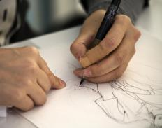 Animation directors are responsible for character design and animation on a film or television show.