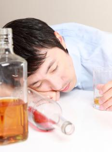 Some people of asian descent suffer from a strong intolerance toward alcohol.