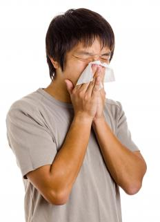 Sneezing can make a parastomal hernia worse.