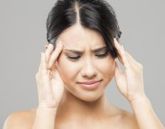 Some people suffer migraine headaches when the atmosphere is electrically charged.