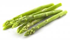 Asparagus is a great ingredient to include in an omelet.