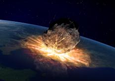 A large asteroid likely wiped out most life on Earth as the Paleocene epoch began.