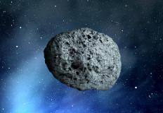 Some asteroid craters are hundreds of miles in diameter.