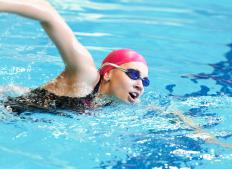 Swimming is a recommended antenatal exercise.