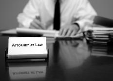The assistance of an attorney may be necessary when property is seized without good reason.