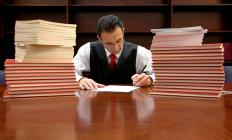 Transactional associates at a civil practice handle negotiations, contracts and other types of paperwork.