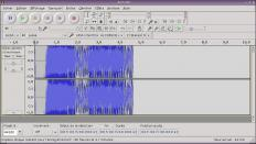 Audacity may be used to edit audio.