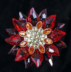 Austrian crystal is made from glass that has been mechanically cut.