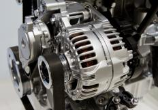 Automobile and motorcycle engines typically use pulley systems, such as those that work with the alternator.