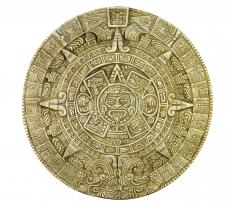 The Aztecs used their calendar to determine the appropriate time for human sacrifices.