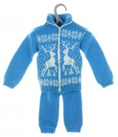 Because it is made from tougher materials, sport weight yarn is considered ideal for making children's clothes.