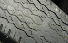 Tread damage to a tire is often the result of overuse.