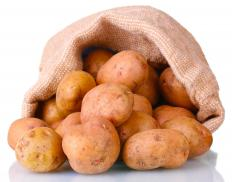 Potatoes, one of the ingredients in cottage pie.