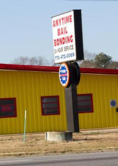 A company that offers bail bonds, a type of surety bond.