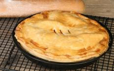 Pies are a great dessert option to be served at a family reunion.